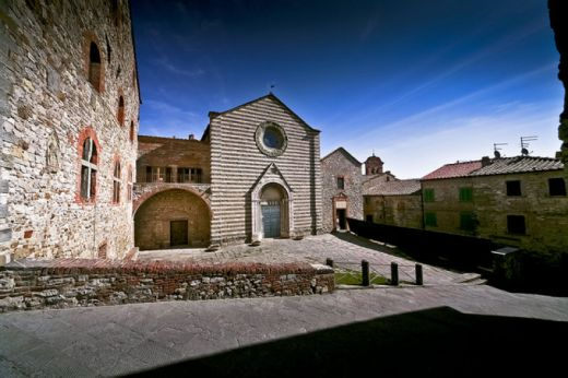 The Medieval Village of Lucignano