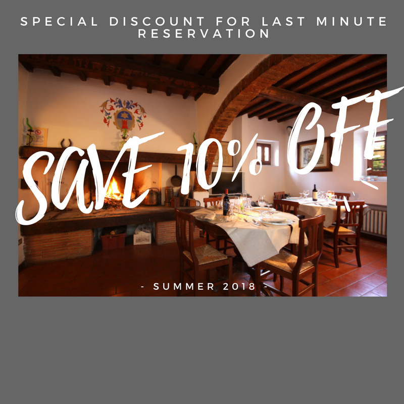 Special 10% Discount for Lastminute reservations