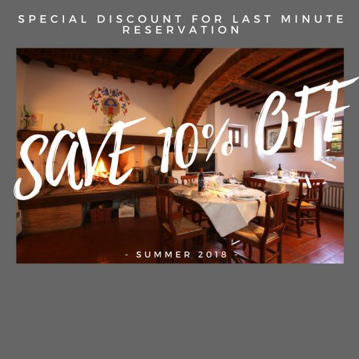 10% of Discount on last minute booking