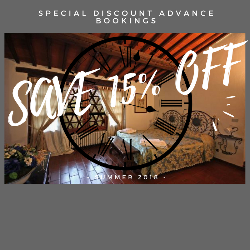 Special Offer for advanced Booking save 15%